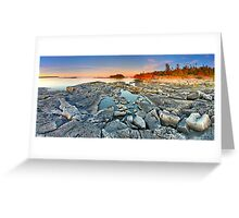 Dunk's Point in Tobermory Greeting Card