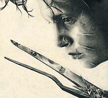 Edward Scissorhands by Bianca Ferrando