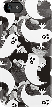 black white gray ghosts by demonique