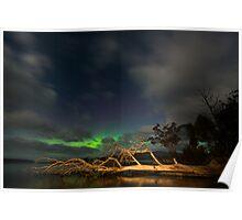 Aurora Australis, Huon Estuary (2nd visit) Poster