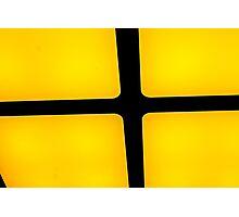 rubix in yellow Photographic Print