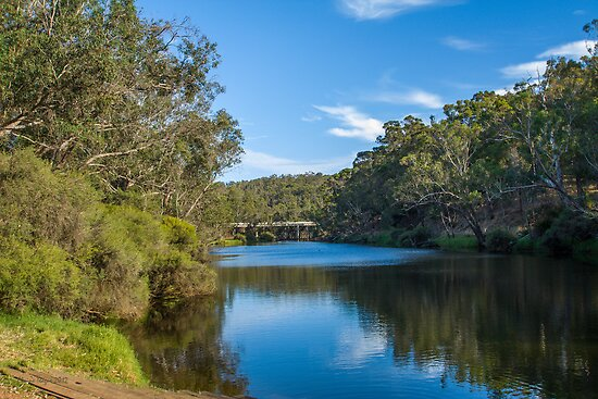 Blackwood River, Bridgetown, Western Australia #4 by Elaine Teague