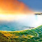 Sunrise at Niagara Falls by Zoltán Duray