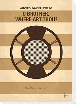 No055 My O Brother Where Art Thou minimal movie poster by Chungkong
