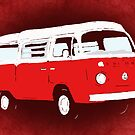 Bay Camper Red White New Version by Ra12