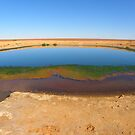 Waterhole on the way to Lake Ayes by Elaine Game