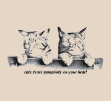 Cats Leave Pawprints On Your Heart by taiche