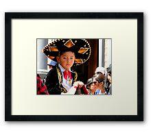 Cuenca Kids 183 Framed Print
