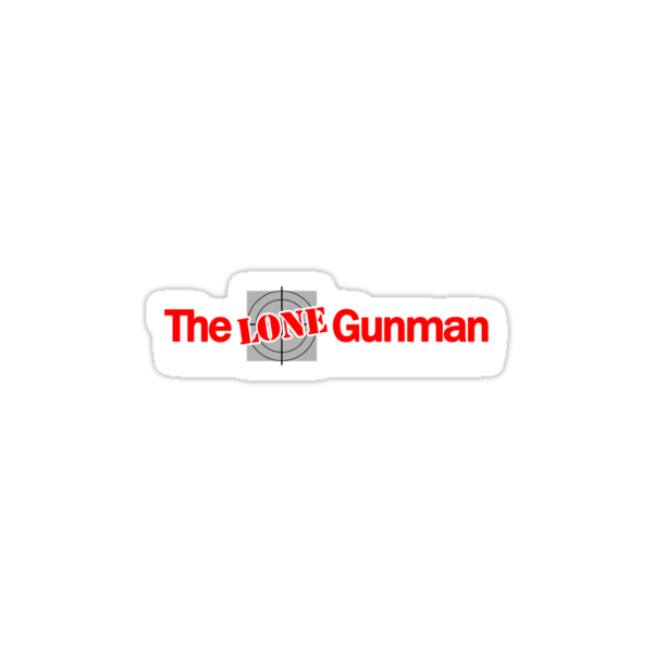 The Lone Gunman (The Lone Gunmen) - Newspaper Group by metacortex