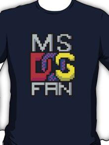 Retro Computers MS-DOS  T-Shirt