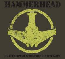 Space: Above and Beyond - Hammerhead Fighter by metacortex