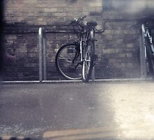 Bikes in the Rain by Claire Elford