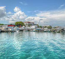 Marina in Nassau, The Bahamas by 242Digital