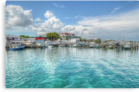 Marina in Nassau, The Bahamas by 242Digital