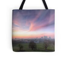 The Lavendar Skies of London Tote Bag