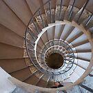 Villa d'Este Spiral Staircase by Claire Elford