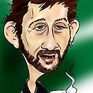 Shane MacGowan by Cartoonsbymark