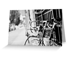 Bikes In Tacoma Greeting Card