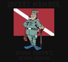 """Scuba Steve SCUBA Squad """"Secret Member"""" Kids Clothes"""