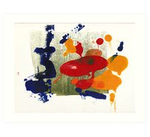 Monotype 1 Art Print