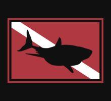 SCUBA Flag Shark Kids Clothes