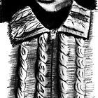 the cardigan of the artist by Daan de Groote