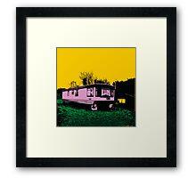 Pink Trailer Framed Print