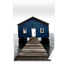 Crawley Boatshed Poster