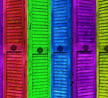 SHUTTERS OF COLOR by Spiritinme