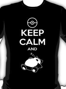 Keep Calm Zzznorlax T-Shirt