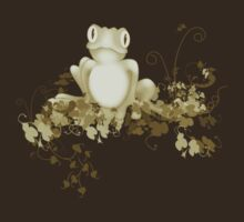 retro frog  by Marie Magnusson