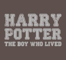 Harry Potter: The Boy Who Lived [Grey] by Jessica Morgan