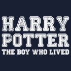 Harry Potter: The Boy Who Lived [White] by Jessica King