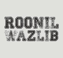 Roonil Wazlib [Black] by Jessica E Pattison