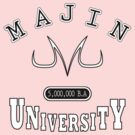 Majin University (black and white) by karlangas