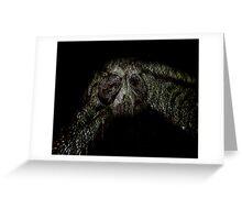 Owl at Nightfall Greeting Card