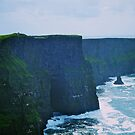 The Cliffs of Moher, County Clare, Ireland by Lisa Hafey