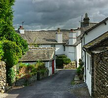 Hawkshead....Vicarage Lane by VoluntaryRanger