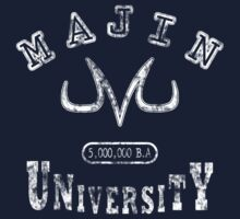 Majin University (white vintage) by karlangas