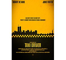 """Movie Poster - """"TAXI DRIVER"""" Photographic Print"""