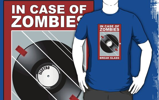 Shaun of the Dead - In Case of Zombie Attack - Electro by metacortex