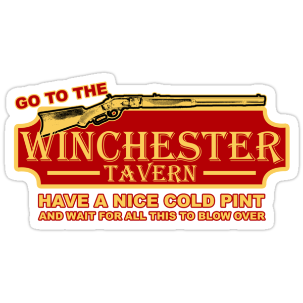 Shaun of the Dead - Winchester Tavern by metacortex