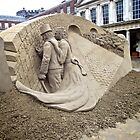 Sand Sculpture, Dublin Castle by Lisa Hafey