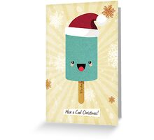 Have a Cool Christmas (Blueberry) Greeting Card