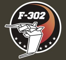 Stargate SG1 - F-302 Mission Patch by metacortex