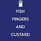 Fish Fingers And Custard by kjharmon3