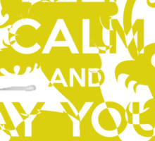 Keep Calm and Pay Your Debts Sticker