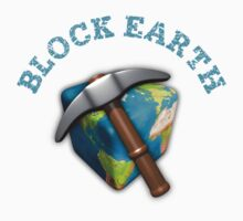 Block Earth - white background by ClickSnapShot