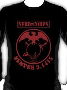 Nerd Corps Semper 3.1415 T-Shirt
