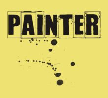 Painter Tshirt and Hoodie  Kids Clothes